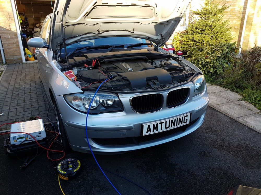 BMW Remap and Hydro Clean by AMTuning.uk