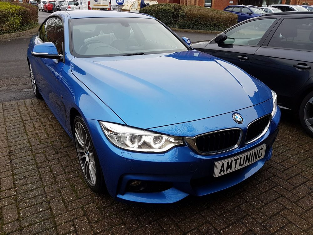 BMW 420d Remap by AMTuning.uk