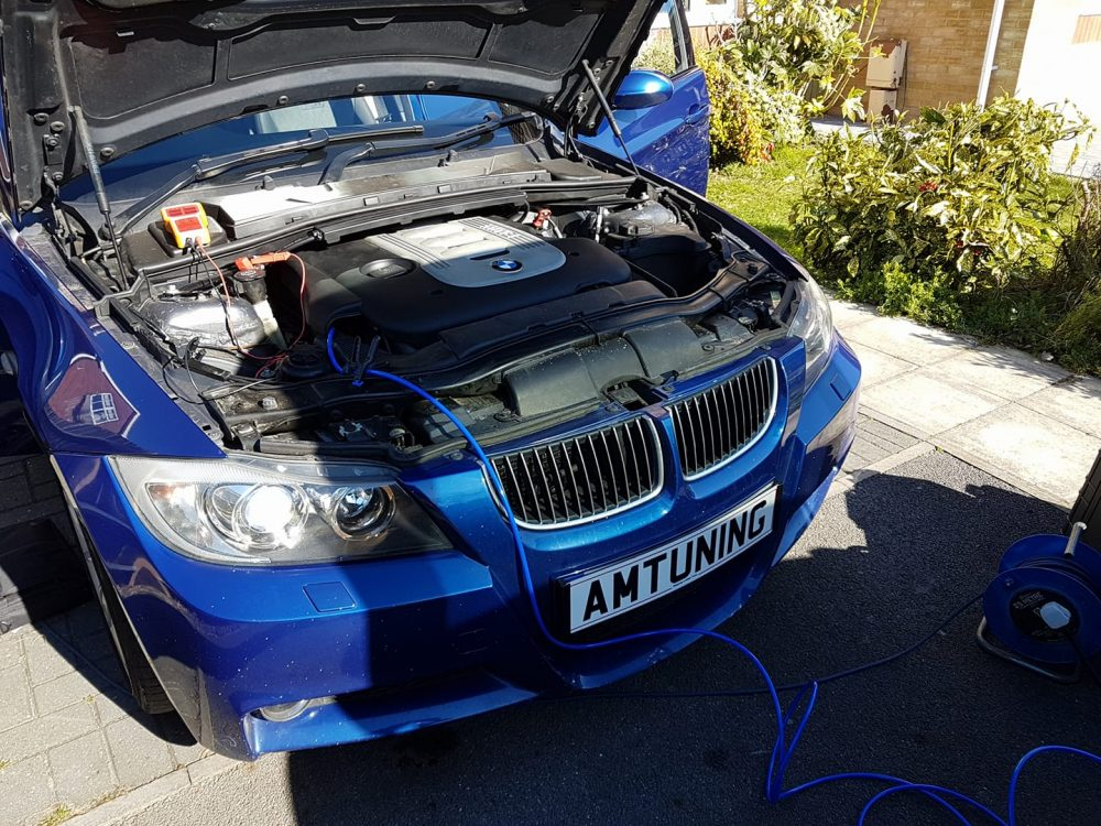 BMW 330D Hydro Clean by AMTuning.uk