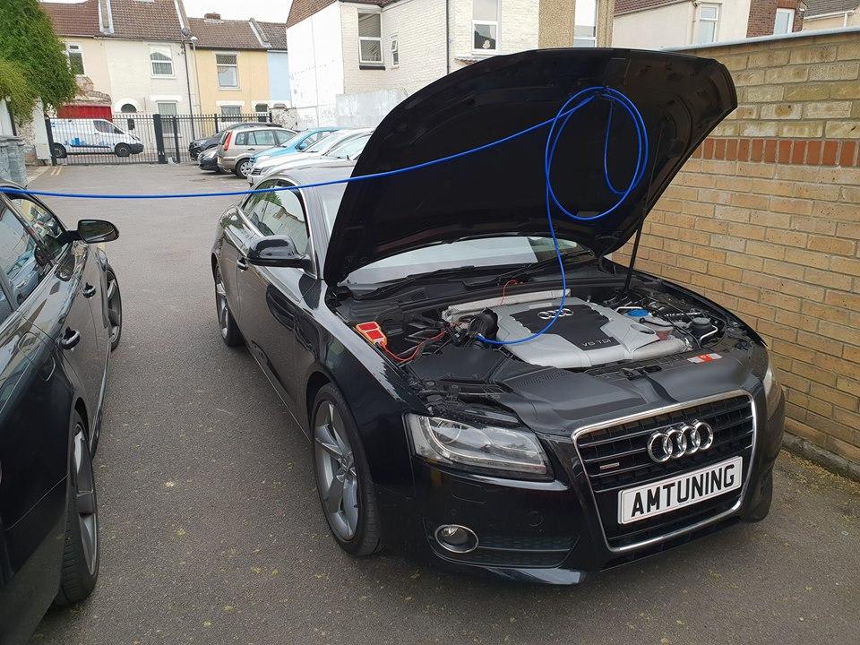 Audi A5 2.0TDI Hydro Clean by AMTuning.uk Portsmouth