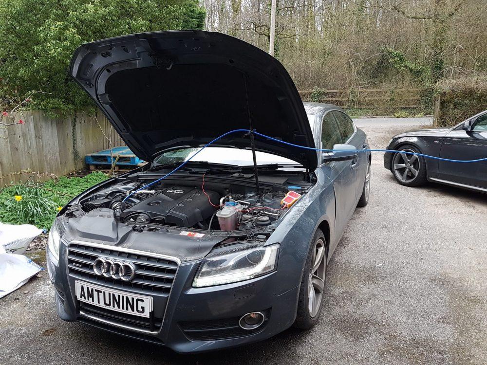 Audi A5 2.0TDI Hydro Clean by AMTuning.uk Hampshire
