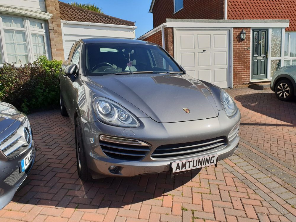 Porsche Cayenne Remap by AMTuning.uk Fareham