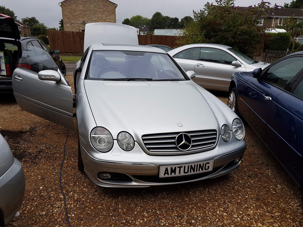 Mercedes SL600 Remap and Hydrogen Clean by AMTuning.uk Southampton