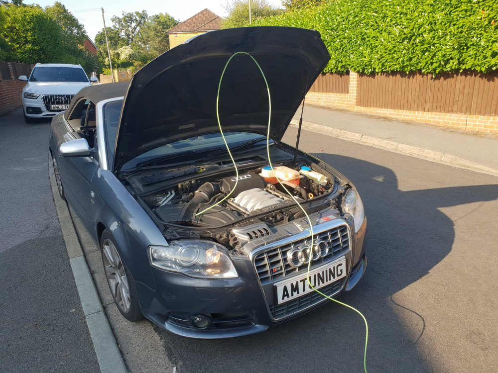 Audi S5 Hydrogen Clean and Remap by AMTuning.uk Portsmouth