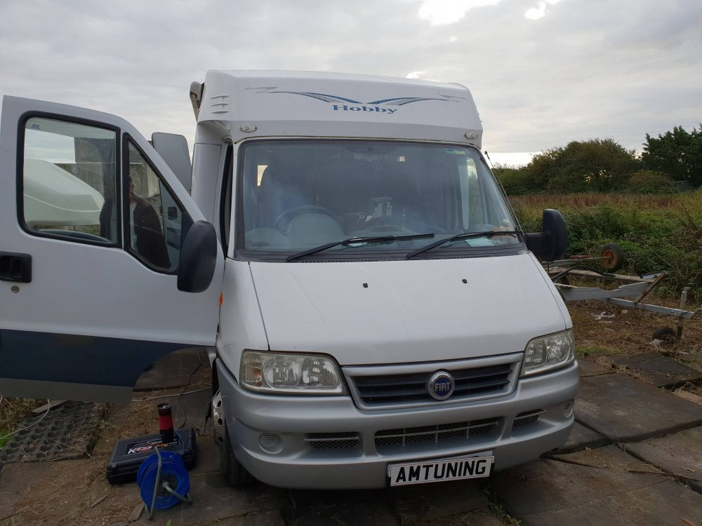 Fiat Motor Home Remap by AMTuning Selsey