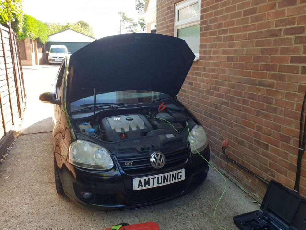 Golf TDI Hydrogen Engine clean by AMTuning UK