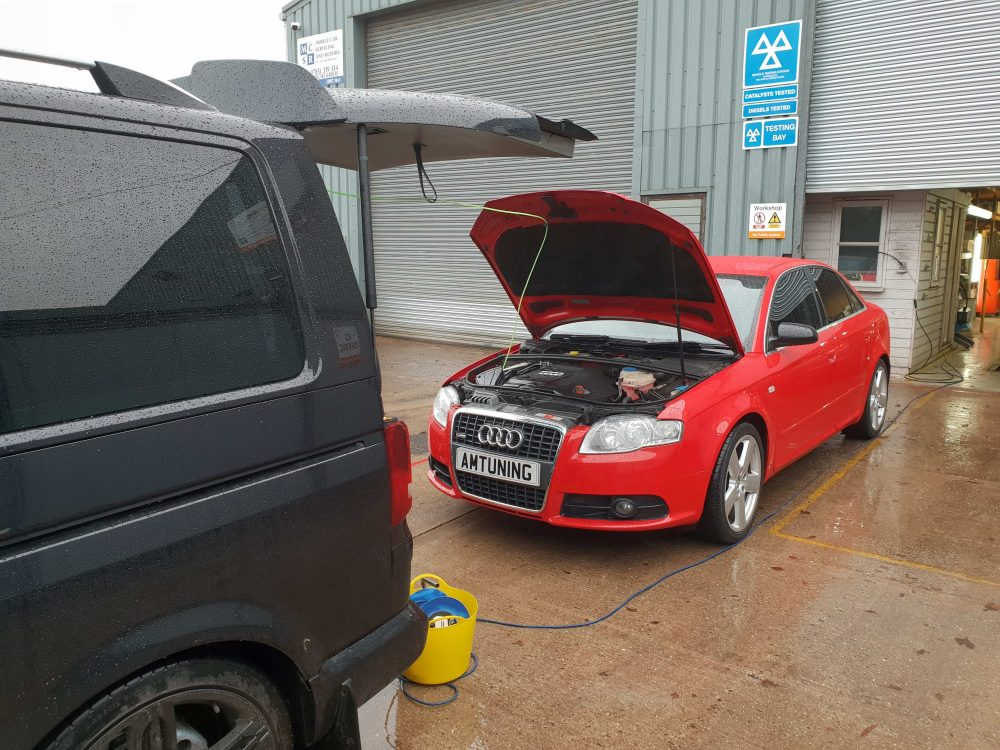 Audi A4 Hydrogen Clean by AMTuning Chichester
