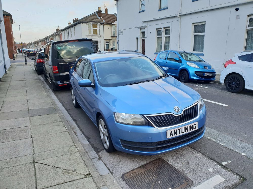 Skoda Rapid 1.6TDI Remap and Engine Clean by AMTuning Portsmouth