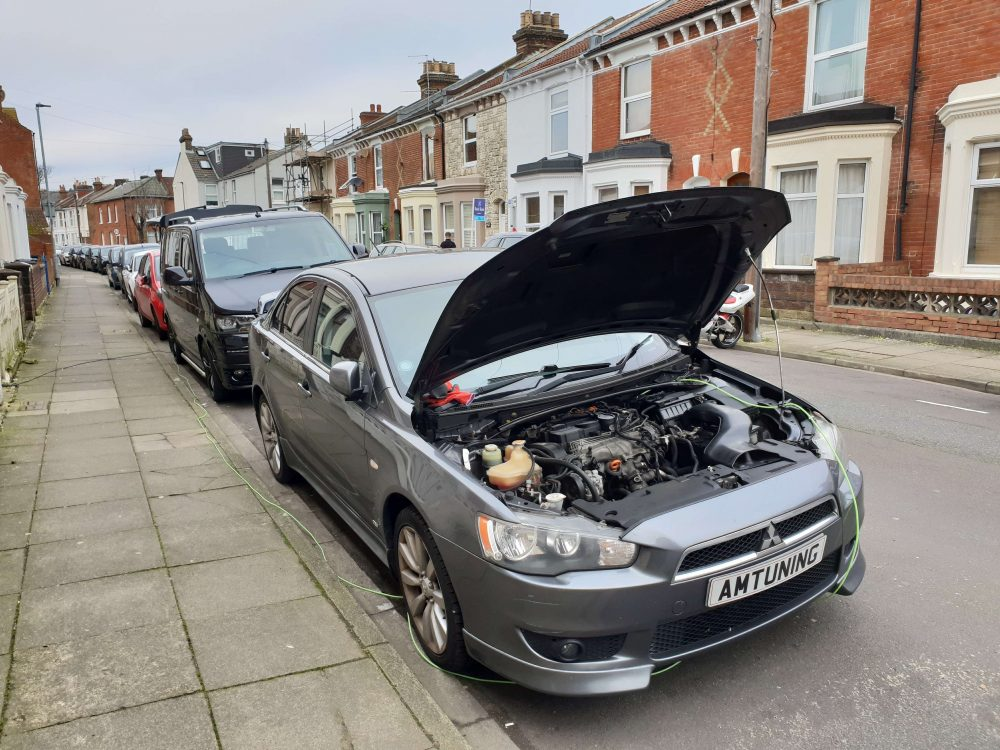 Mitsubishi Remap and Hydrogen Clean by AMTuning by Portsmouth
