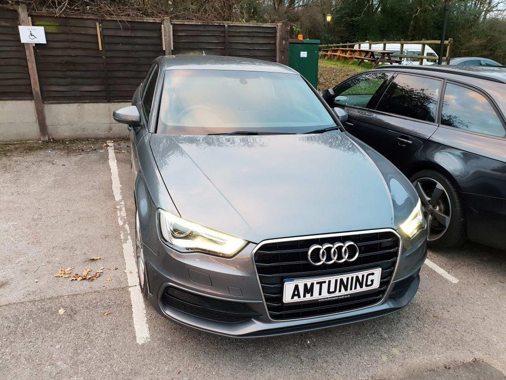 Audi A3 150bhp TDI Remap by AMTuning Southampton