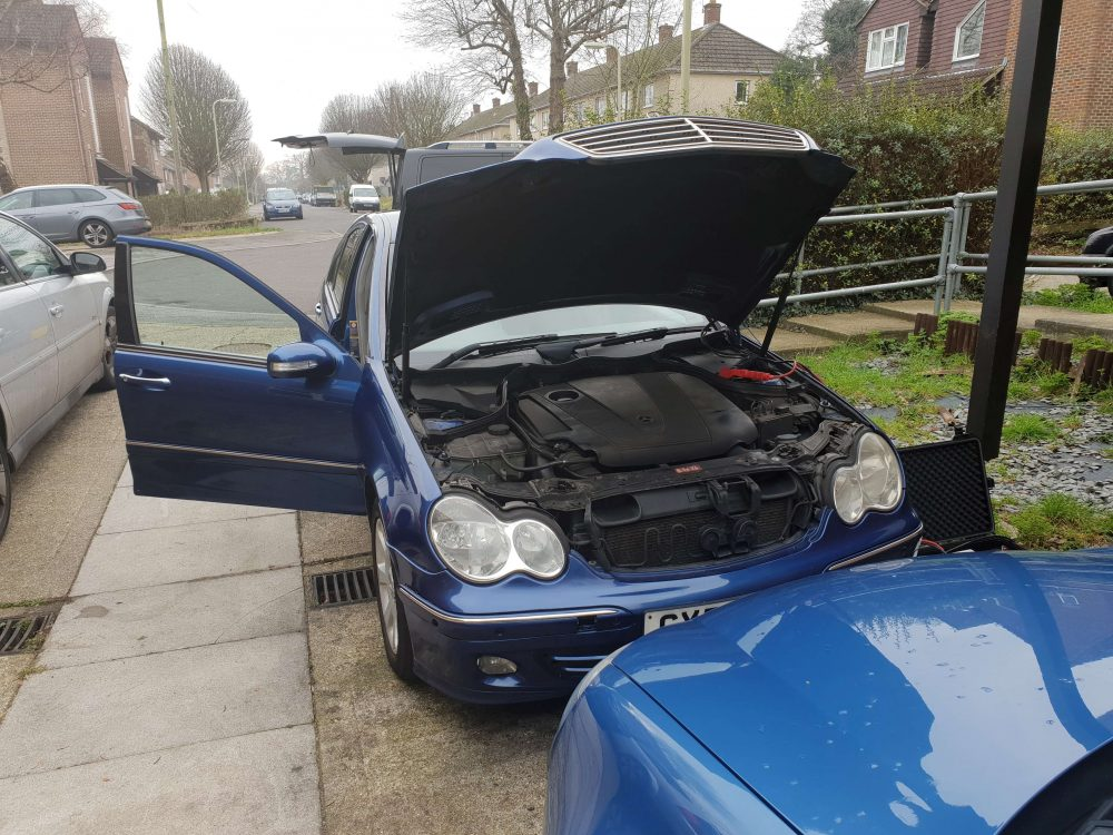 Mercedes C220 CDI Remap by AMTuning Southampton