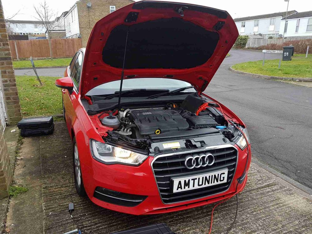 Audi A3 Remap by AMTuning.uk Basingstoke