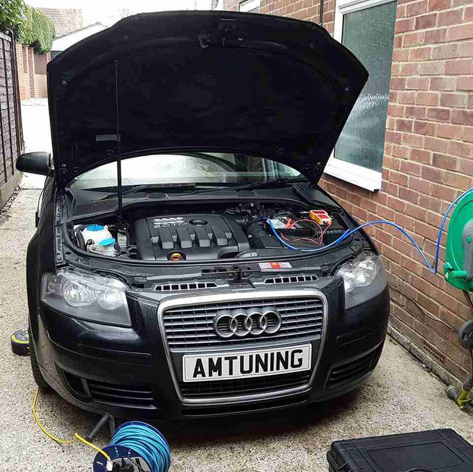 Audi A3 2.0TDI PD Remap by AMTuning.uk