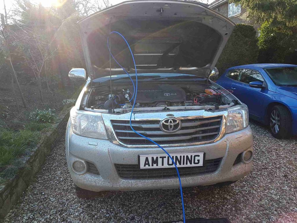 Hilux 3.0 with Clean and Remap by AMTuning.uk