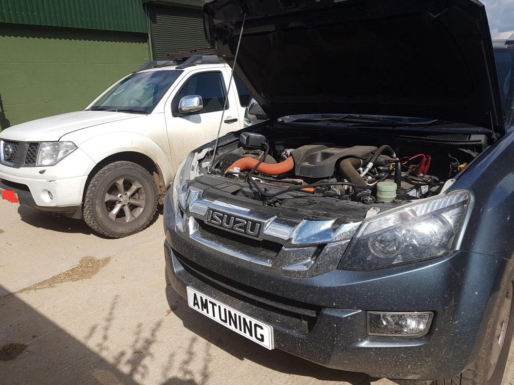 Isuzu D-Max Remap by AMTuning.uk Andover